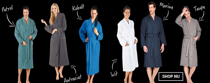 Kimono badjassen