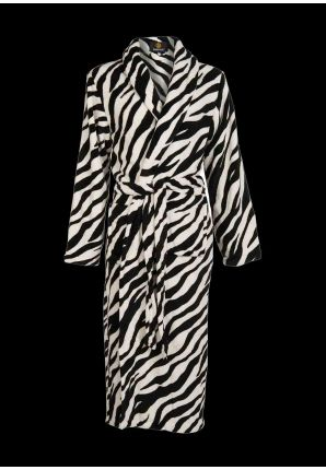 Badjas zebraprint