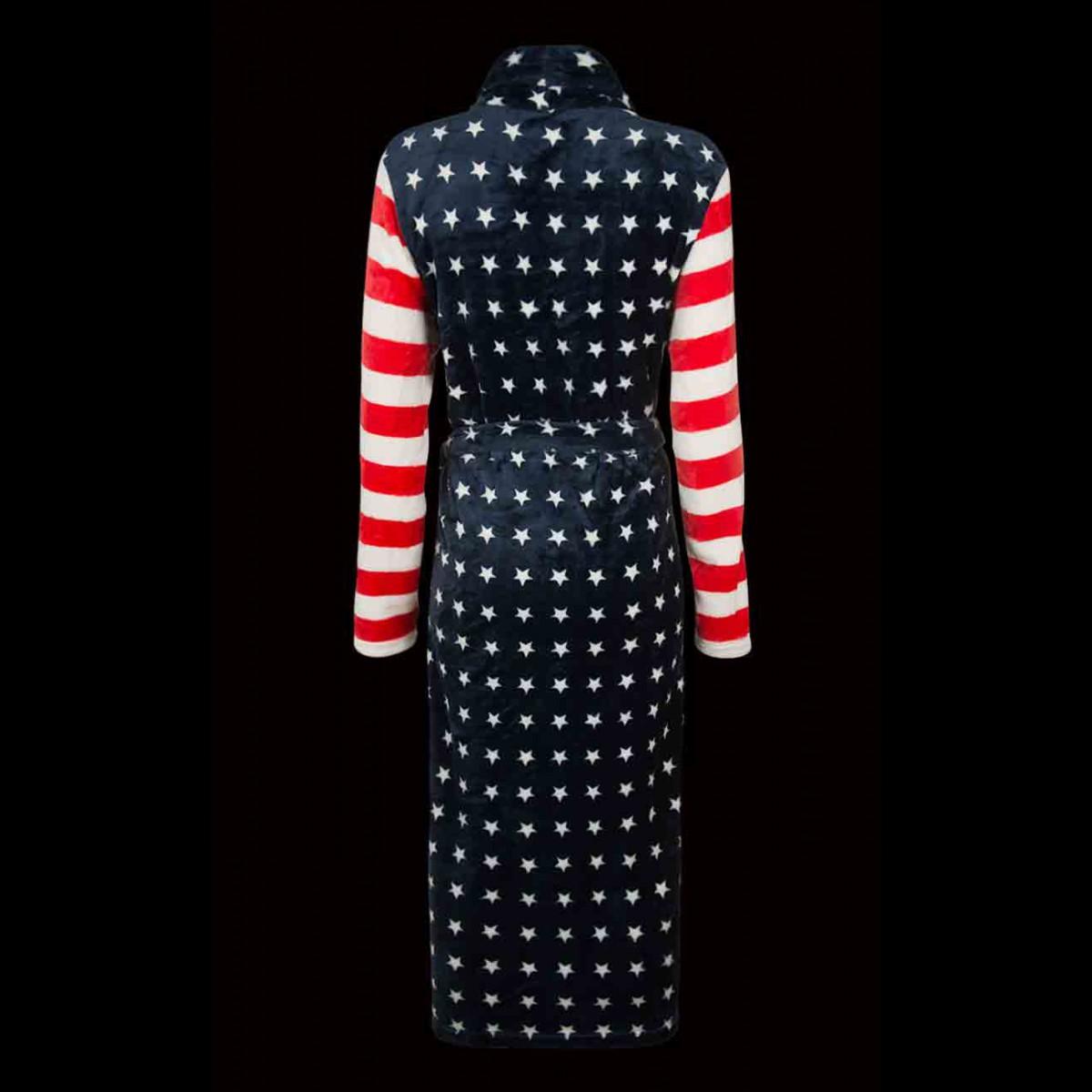 badjas-met-amerikaanse-vlag