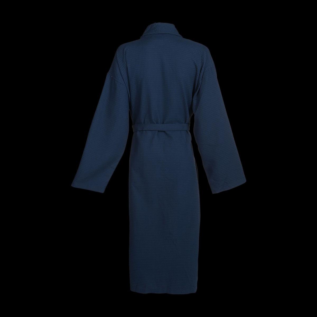 wafel-badjas-blauw