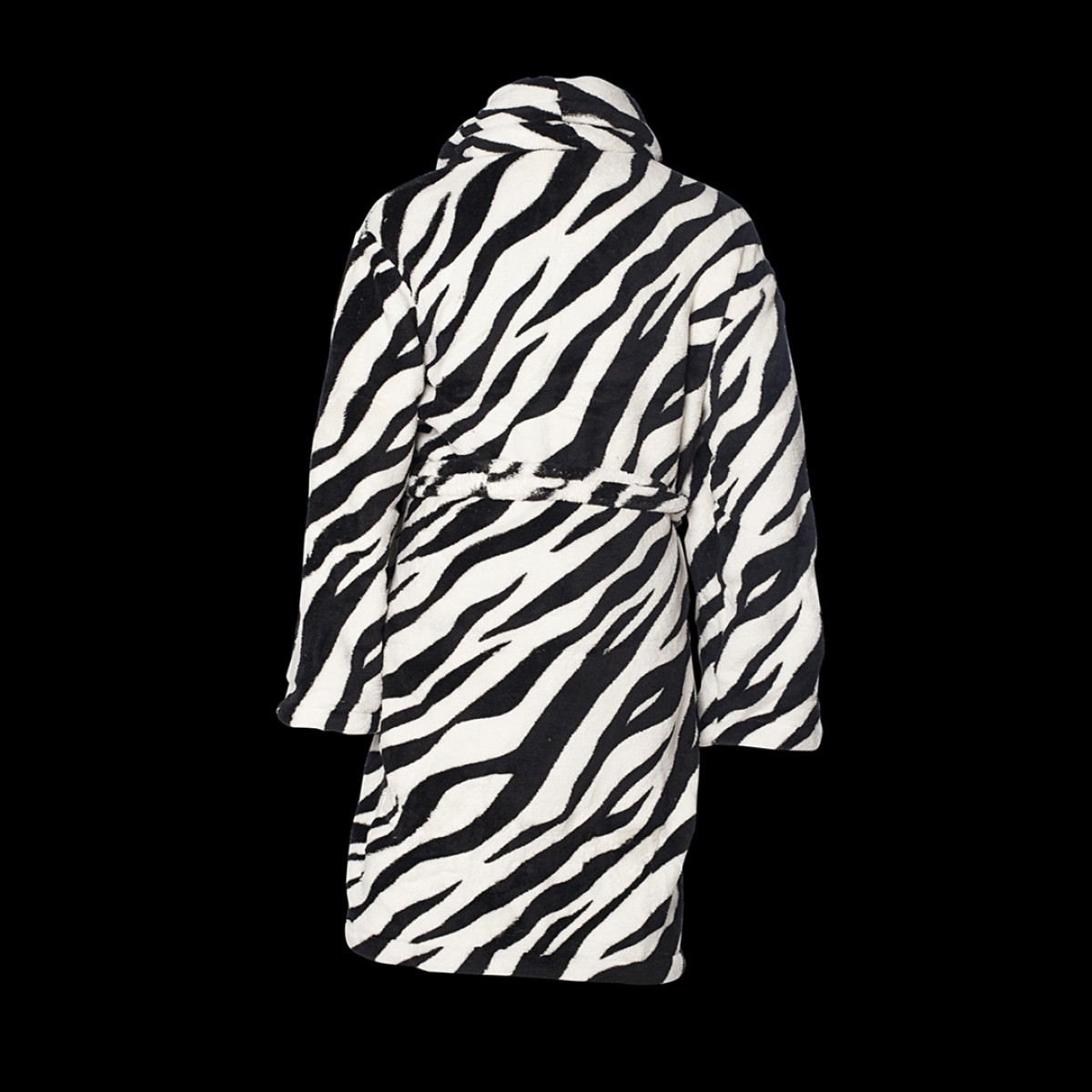 Zebraprint badjas kids