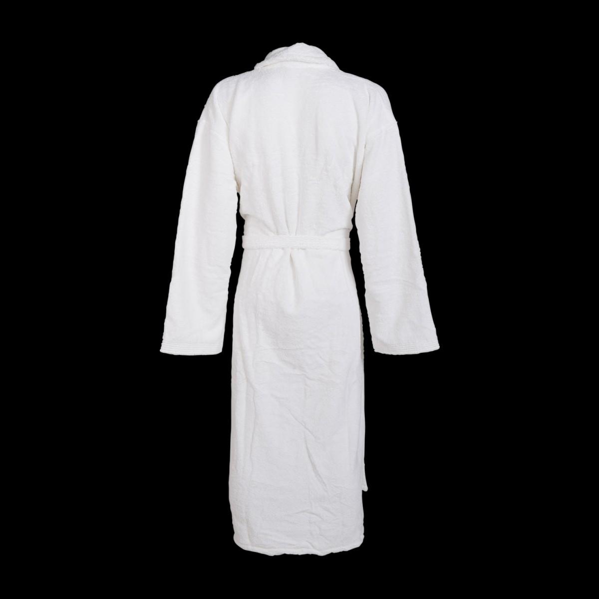 Grote maten badjas wit