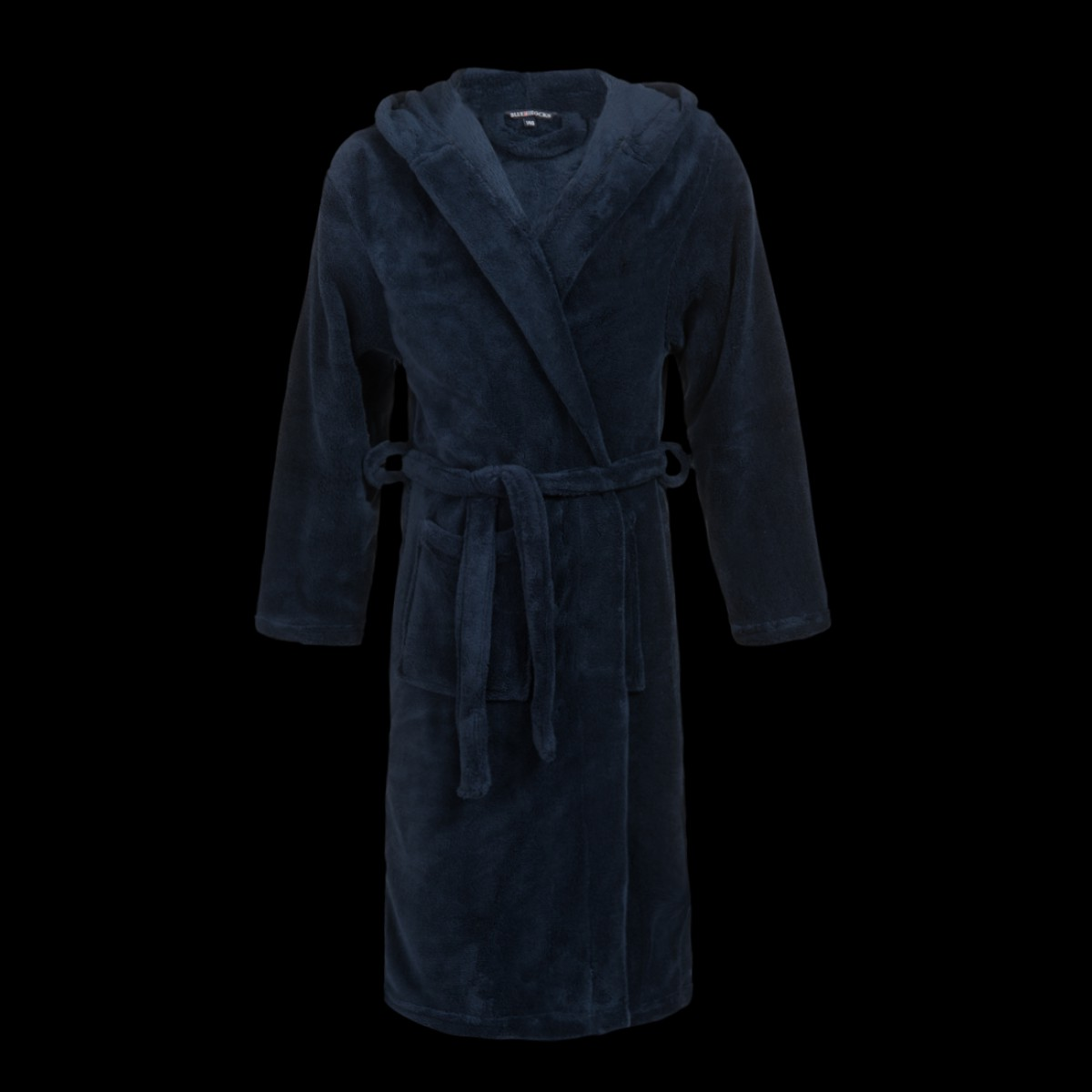 Donkerblauwe kinderbadjas