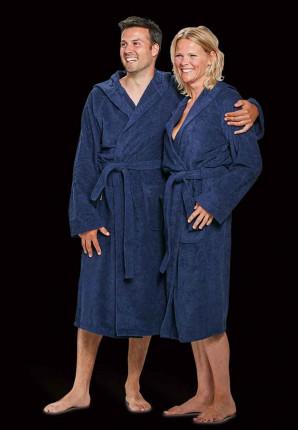 capuchon badjassen marineblauw
