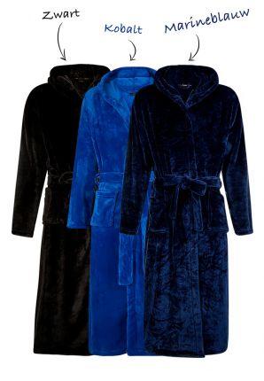 Badrock fleece badjas - 3 kleuren
