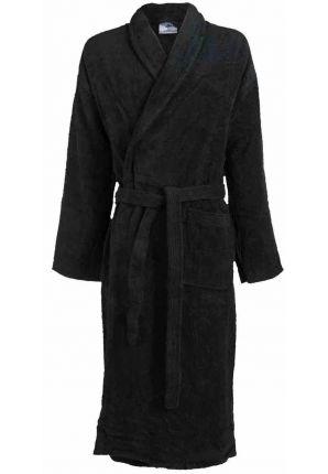 Grote maten badjas zwart