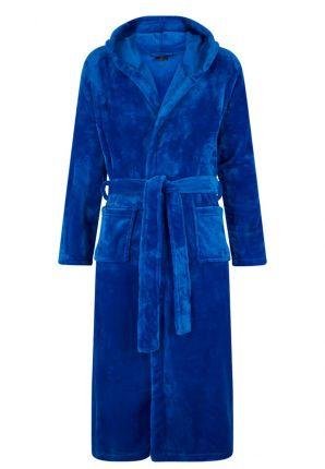 Blauwe badjas kinderen