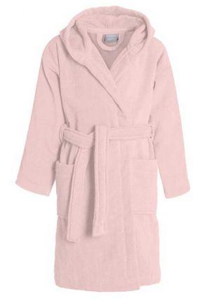 Kinderbadjas pastel roze
